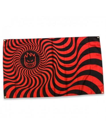 SPITFIRE BANNER BIGHEAD SWIRL RED BLACK