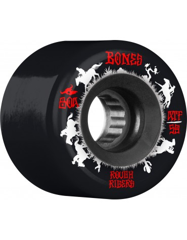BONES WHEELS (JEU DE 4) ATF 59MM ROUGHRIDERS WRANG
