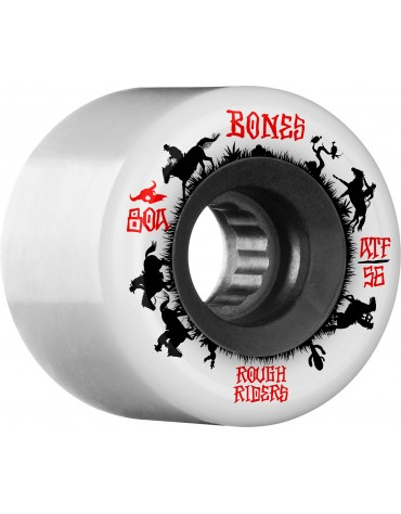 BONES WHEELS (JEU DE 4) ATF 56MM ROUGHRIDERS WRANG