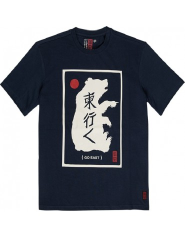 T-SHIRT ELEMENT EASTERN BEAR INDIGO