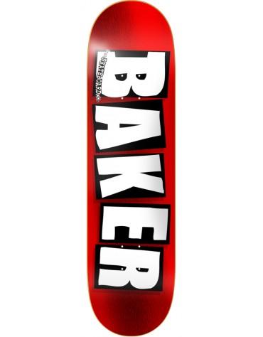BAKER DECK BRAND LOGO RED FOIL 8.0 X 32
