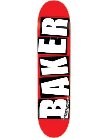 BAKER DECK BRAND LOGO WHITE 8.25 X 31.75