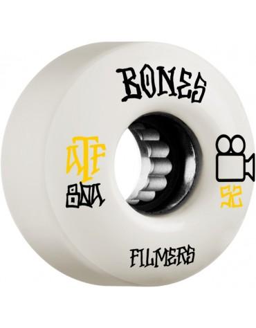 BONES WHEELS (JEU DE 4) ATF 52MM FILMERS 80A