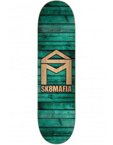Sk8mafia house logo wood deck 8