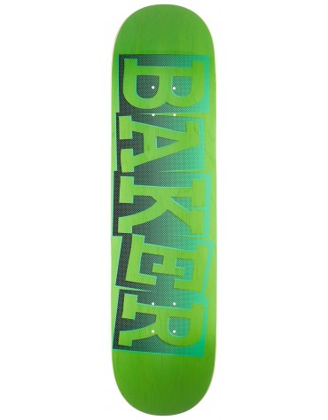BAKER DECK RIBBON NAME RH GRN B2 8.38 X 32