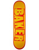 BAKER DECK BRAND NAME KS YLW RED 7.875 X 31