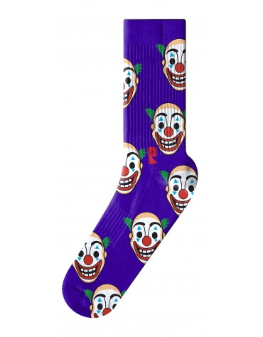 Psockadelic Socks Clown