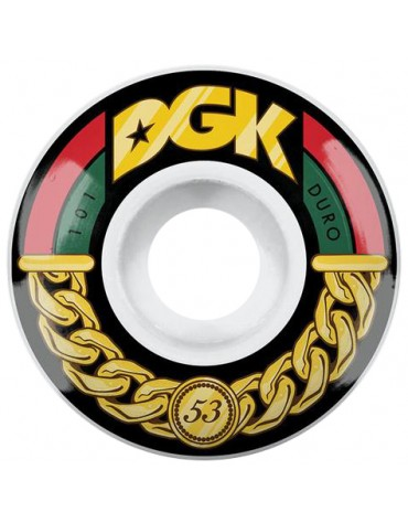 DGK WHEELS (JEU DE 4) 53MM LINKS