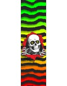 POWELL PERALTA GRIP PLAQUE RIPPER FADE WHITE 9 X 3
