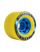HAWGS WHEELS (JEU DE 4) 70MM MINI ZOMBIE 82A YELLO
