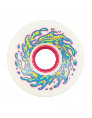 SLIME BALLS WHEELS (JEU DE 4) 66MM OG SLIME WHITE