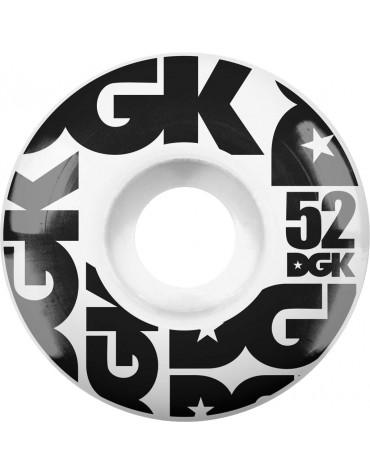 DGK WHEELS (JEU DE 4) 52MM STREET FORMULA