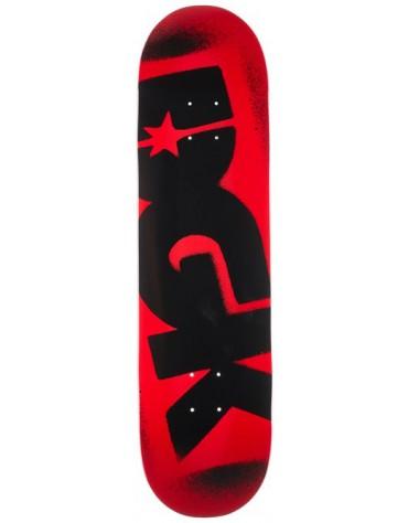 DGK DECK OG LOGO RED BLACK 8.1