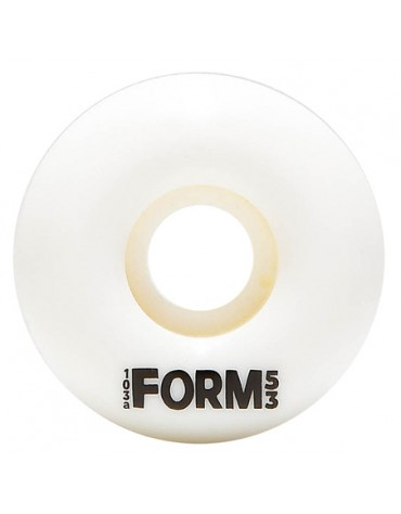 FORM WHEELS (JEU DE 4) WHITE