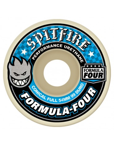 SPITFIRE WHEELS (JEU DE 4) 54MM F4 99D CONCL FULL