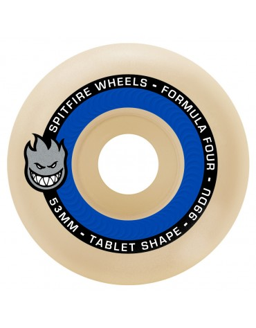 SPITFIRE WHEELS (JEU DE 4) 53MM F4 99D TABLET NATURAL