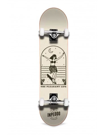 Inpeddo, Lady, Skateboard Std Compl, beige