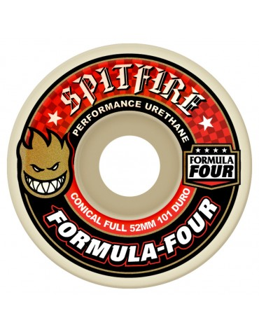 SPITFIRE WHEELS (JEU DE 4) 52MM F4 101D CONCL FULL