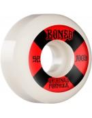 BONES WHEELS (JEU DE 4) 100'S 52MM V5 #4 WHITE SID