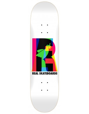 REAL DECK TEAM ECLIPSING WHITE 8.25