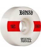BONES WHEELS (JEU DE 4) 100'S 52MM V4