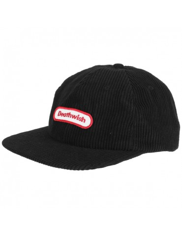 DEATHWISH CAP GAME TIME BLK CORD SNAPBACK