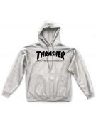 THRASHER SWEAT SKATE MAG HOOD GREY