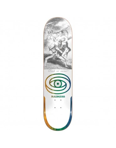 MADNESS DECK DONDE R7 WHITE 8.5 X 31.95