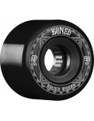 BONES WHEELS (JEU DE 4) ATF 59MM ROUGH RIDERS RUNNERS BLACK
