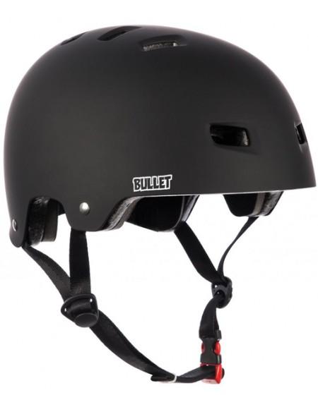 BULLET HELMET (CASQUE) BLACK MATT S/M