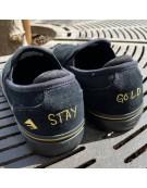 EMERICA WINO G6 SLIP ON BLACK GOLD
