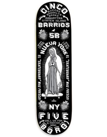 5BORO DECK CINCO BARRIOS BLACK 8.25 X 32