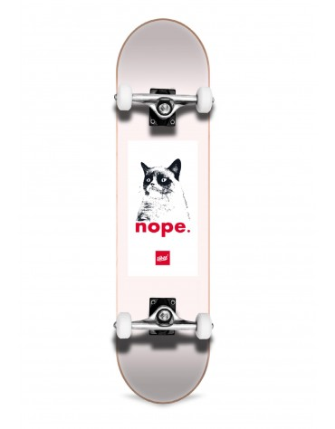 Uber Skateboards Grumpy Complete Rose 7,75