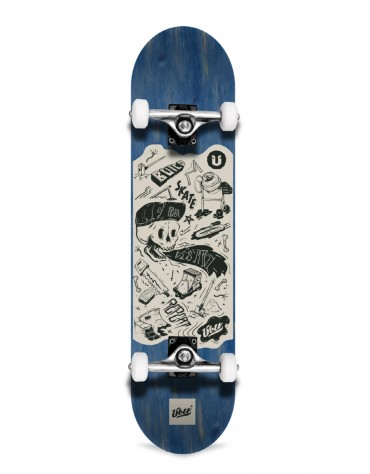 Über DIY Skateboard 3-Star Complete blue 7.75